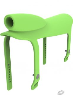 Gnarly Rider Silicone Saddle Green
