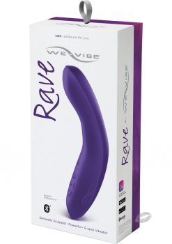We Vibe Rave Silicone G Spot Rechargeable Vibrator Purple