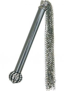 Midnight Jeweled Chain Tickler