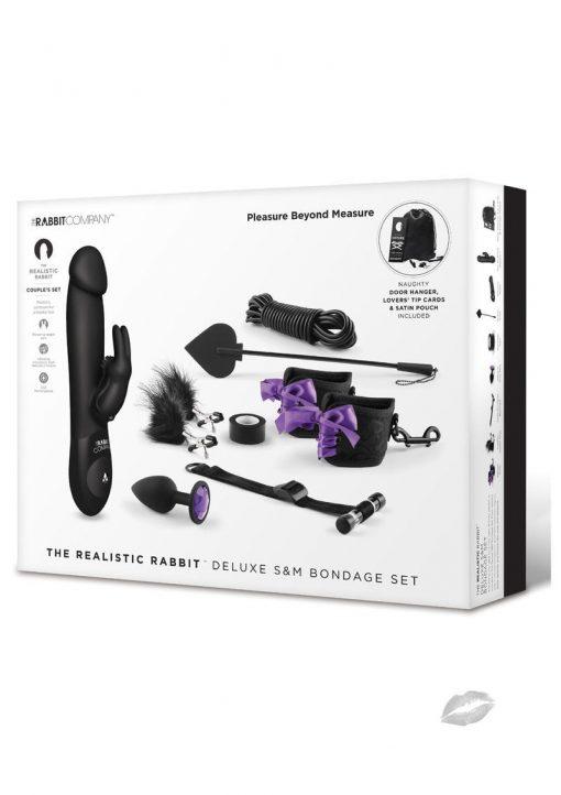 The Realistic Rabbit Deluxe SandM Bondage Set