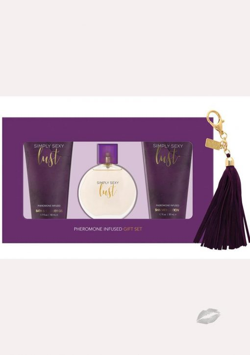 Simply Sexy Lust Perfume 4 Piece Gift Set