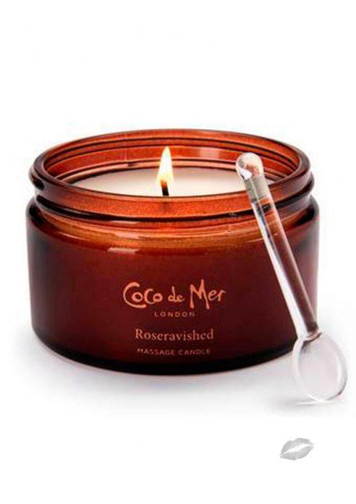 Coco De Mer Roseravished Massage Candle
