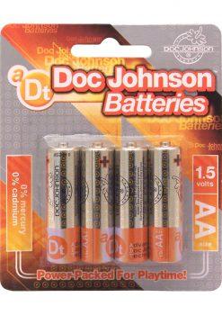 Doc Johnson Batteries AA 4 Pack