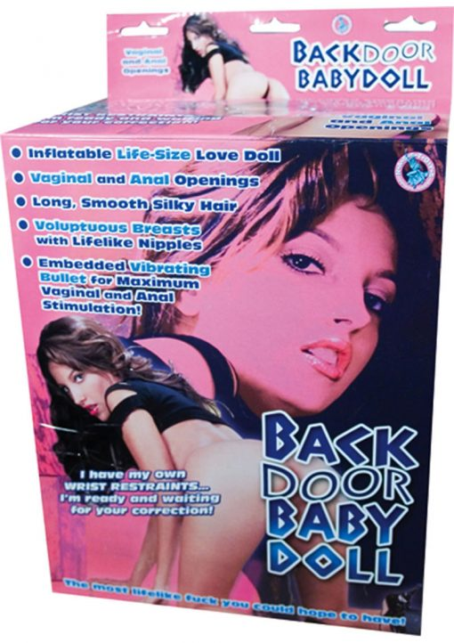 Backdoor Babydoll Inflatable Flesh