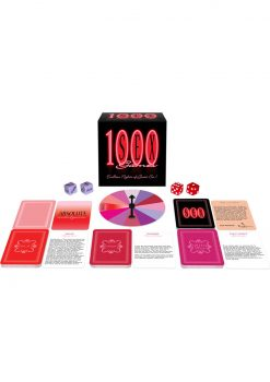 1000 Sex Games Card Game