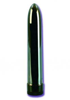 Colt Metal 7 Inch Vibrator Silver Waterproof