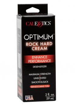Optimum Rock Hard Desensitizing Cream 2 Ounces