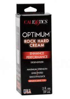 Optimum Rock Hard Desensitizing Cream 2 Ounces