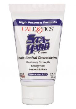Sta-Hard Desensitizer Cream High Potency Formula Bulk Tube 2 Ounces
