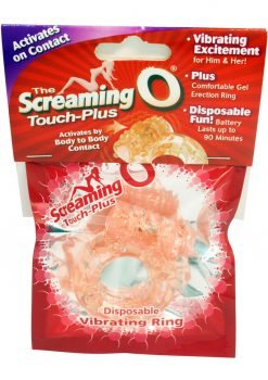 Screaming O Touch Plus Cock Ring Waterproof Flesh