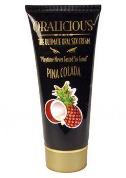 Oralicious Ultimate Oral Sex Cream 2 Ounce Pina Colada