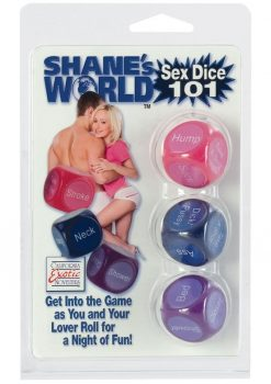 Shanes World Sex Dice 101