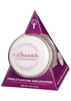 Climaxa Pleasure Amplification Gel For Women .5 Ounce Jar