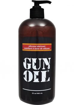 Gun Oil Silicone Lubricant 32 Ounce