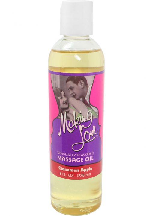 Making Love Massage Oil Cinnamon Apple 8 Ounce
