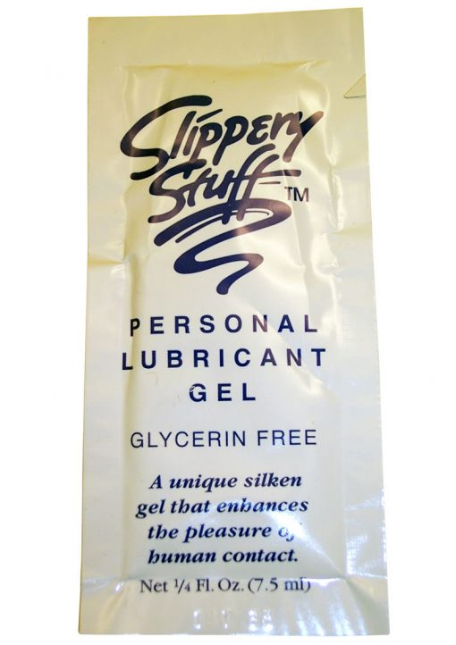 *Special Order* Slippery Stuff Water Based Lubricant Gel .25 Ounce Sample