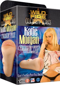 Wildfire Celebrity Katie Morgan Cyberskin Pussy Masturbator Waterproof Natural