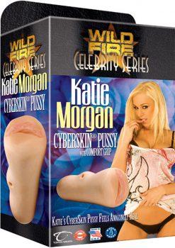 Wildfire Celebrity Katie Morgan Cyberskin Pussy Masturbator Waterproof Natural