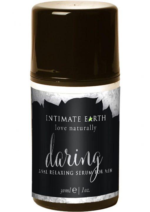 Intimate Earth Daring Mens Anal Relaxing Serum For Men Lemongrass 1oz