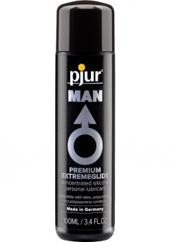 Pjur Man Premium Extreme Glide Silicone Lubricant 3.4 Ounce