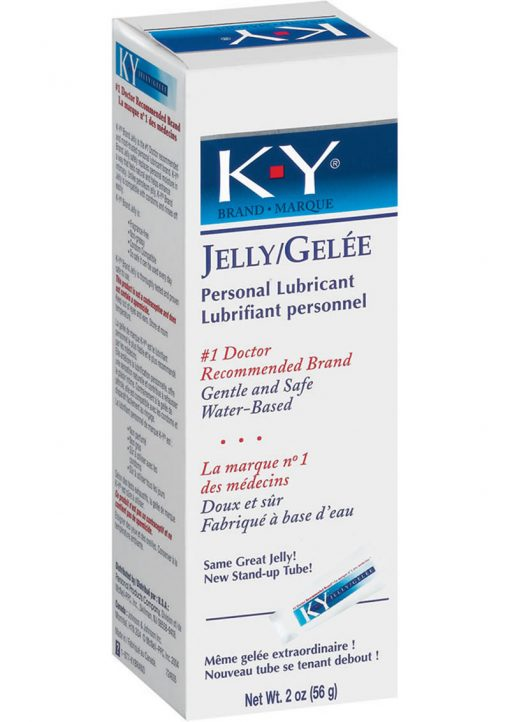 KY Jelly Water Based Lubricant 2 Ounce