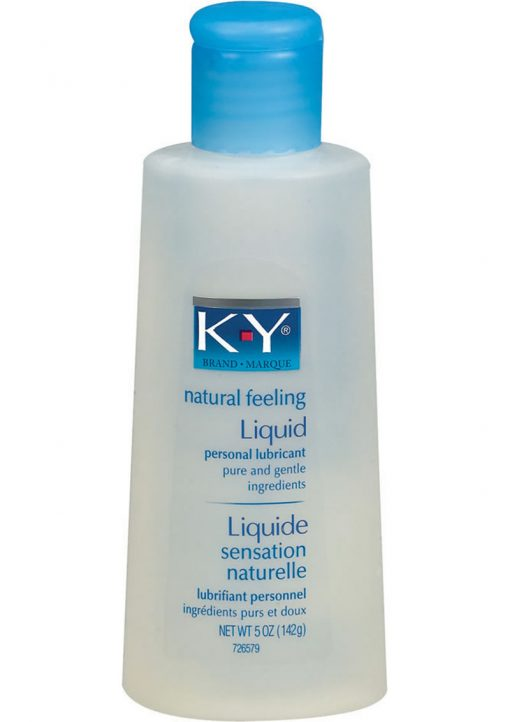 KY Natural Feeling Liquid Personal Lubricant 5 Ounce
