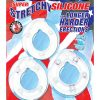 All American Triple Rings Silicone Cockrings Waterproof Clear