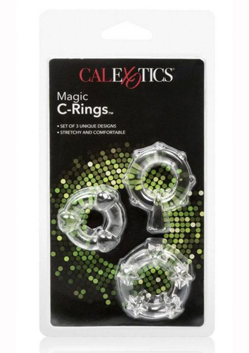 Magic C Rings Set Of 3 Clear