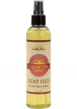 Glow Oil With Hemp Seed High Tide 8 Ounce Spray