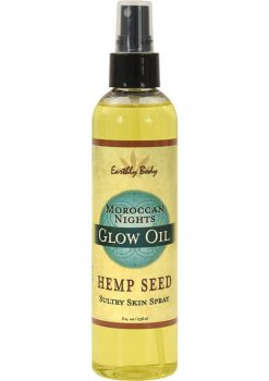 Glow Oil With Hemp Seed Moroccan Nights 8 Ounce Spray