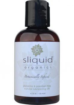 Sliquid Organics Silk Water Based Lubricant 4.2 Ounce