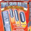 Triple Silver Bullets Graduated Size Multispeed Silver