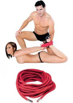 Fetish Fantasy Japanese Silk Rope Red