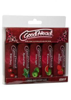Goodhead Oral Delight Gel asstd 5 Pk 1 oz