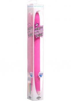 Neon Luv Touch XL Gspot Softees Vibe Waterproof 10 Inch Pink