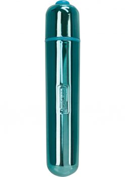Power Bullet Extended Waterproof Metallic Teal 3.5 Inch