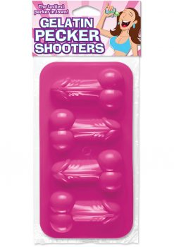 Bachelorette Party Favors Gelatin Pecker Shooters Pink