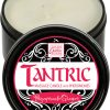Tantric Massage Candle with Pheromones White Pomegranate Ginger