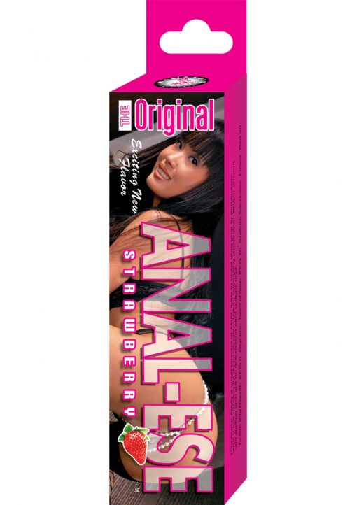 Anal Ese Anal Lubricant Strawberry 1.5 Ounce