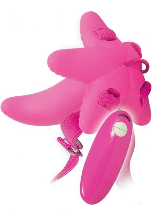 Mini G Spot Strap On Waterproof Pink