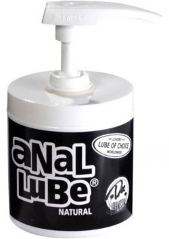 Anal Lube Natural Airless Pump 3.4 Ounce