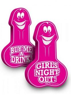 Girls Night Out Penis Party Foam Hand 18.5 Inch Pink