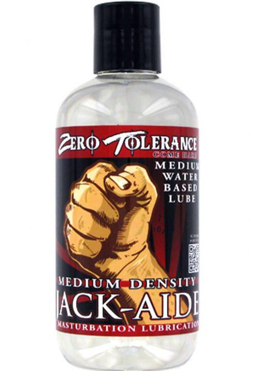 Zero Tolerance Jack Aide Medium Density Masturbation Lubricant 2 Ounce