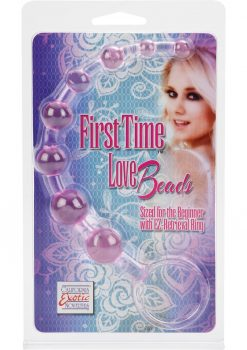 First Time Love Beads 8.25 Inch Pink