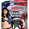 Real Skin All American Whoppers Universal Harness Black