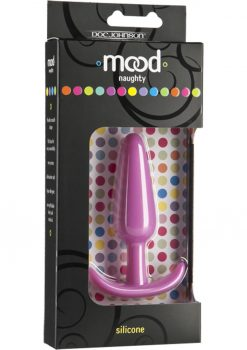 Mood Naughty Silicone Anal Plug Medium Pink
