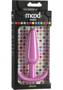 Mood Naughty Silicone Anal Plug Large Pink