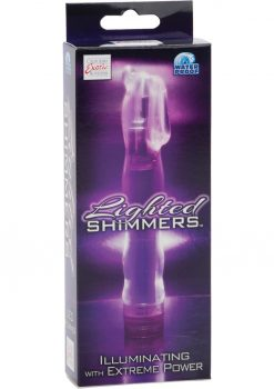 Lighted Shimmers L E D Hummer Waterproof 6.5 Inch Purple