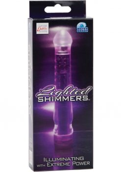 Lighted Shimmers L E D Glider Waterproof 6.5 Inch Purple