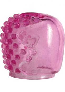 Magic Massager Small Nubs And Smooth Pleasure Attachment Waterproof Pink